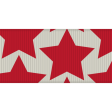 BYB 2016: Independence Day, Ribbon 01, Red Stars