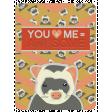 Ferret Pocket Card (in the style of Jill Morgenstern)
