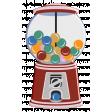 October 2020 Blog Train: Stonewashed Denim, Gumball Machine