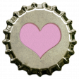 October 2020 Blog Train: Stonewashed Denim, Bottlecap, Heart