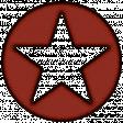 October 2020 Blog Train: Stonewashed Denim, Circle, Star, Red 01