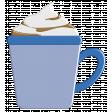 October 2020 Blog Train: Stonewashed Denim, Cocoa Mug 01, Blue