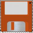 October 2020 Blog Train: Stonewashed Denim, Floppy Disk 01, Orange