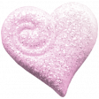 October 2020 Blog Train: Stonewashed Denim, Glitter Heart 01, Pink