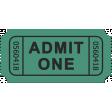 October 2020 Blog Train: Stonewashed Denim, Ticket 01, Green