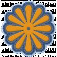 October 2020 Blog Train: Stonewashed Denim: Embroidered Flower 01a