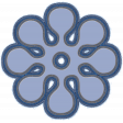 October 2020 Blog Train: Stonewashed Denim: Embroidered Flower 04a