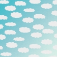 April 2021 Blog Train: Patterned Paper 06, Ombre Clouds