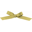 April 2021 Blog Train: Knotted Bow with Dots 01, Gold