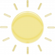 April 2021 Blog Train: Glass, Sun 03