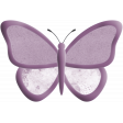 May 2021 Blog Train: Spring Flowers Butterfly 01 Purple