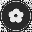May 2021 Blog Train: Spring Flowers Sticker 01, Black