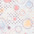 May 2021 Blog Train: Spring Flowers Patterned Paper Circles & Dots 01
