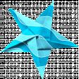 June 2021 Blog Train: Summertime Star, Folded Paper 09