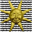 June 2021 Blog Train: Summertime Button 05, Sun