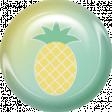 June 2021 Blog Train: Summertime Button 01f, Pineapple