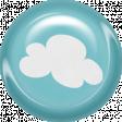 June 2021 Blog Train: Summertime Button 01a, Cloud