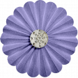 August 2021 Blog Train: Rainbow Unicorn Party Accordion Flower 01, Purple