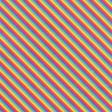 August 2021 Blog Train: Rainbow Unicorn Party Paper Rainbow Stripes 01