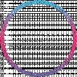 August 2021 Blog Train: Rainbow Unicorn Party Frame Rainbow Ombre 01