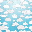 August 2021 Blog Train: Rainbow Unicorn Party Paper Clouds 01