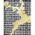 Gold Leaf Foil: Deer 01
