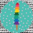 Ice Cream Print Circle3