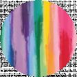 Rainbow Print Circle10
