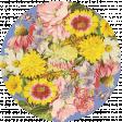 Seriously Floral Print Circle 10