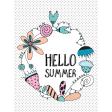 Summer Day Pocket Card 08 3x4