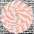 Summer Day String Twirl Orange