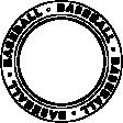 Sports Text Circle Baseball Template