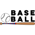 Sports Word Baseball Word Art