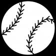 Sports Print Baseball
