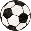 Sports Wood Soccer Ball