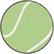 Sports Wood Tennis Ball