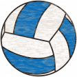 Sports Wood Volleyball