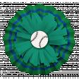 Sports Flower Baseball