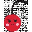 Cute Cherry Illustration