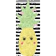 Cute Fruits Glitter Pineapple