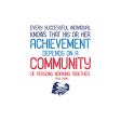 Public Discourse Pocket Card 3x4 Community