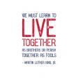 Public Discourse Pocket Card 3x4 Live Together