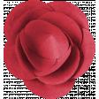Public Discourse Flower Red