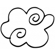 Stars Eyes Doodle 17 Template