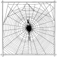 Vintage Image Spider Web