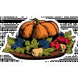 Enchanting Thanksgiving Sticker 3