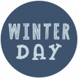 Winter Day Circle 15 Print