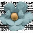The Guys Flower Blue