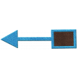 Donut Worry Leather Arrow 2