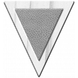 Tea Party Wood Leather Triangle 2 Template